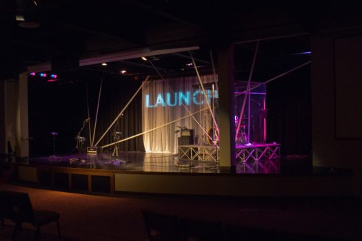 Victory Church: Launch stage design