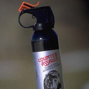 Bear spray works