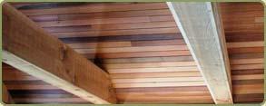 western red cedar ceiling paneling