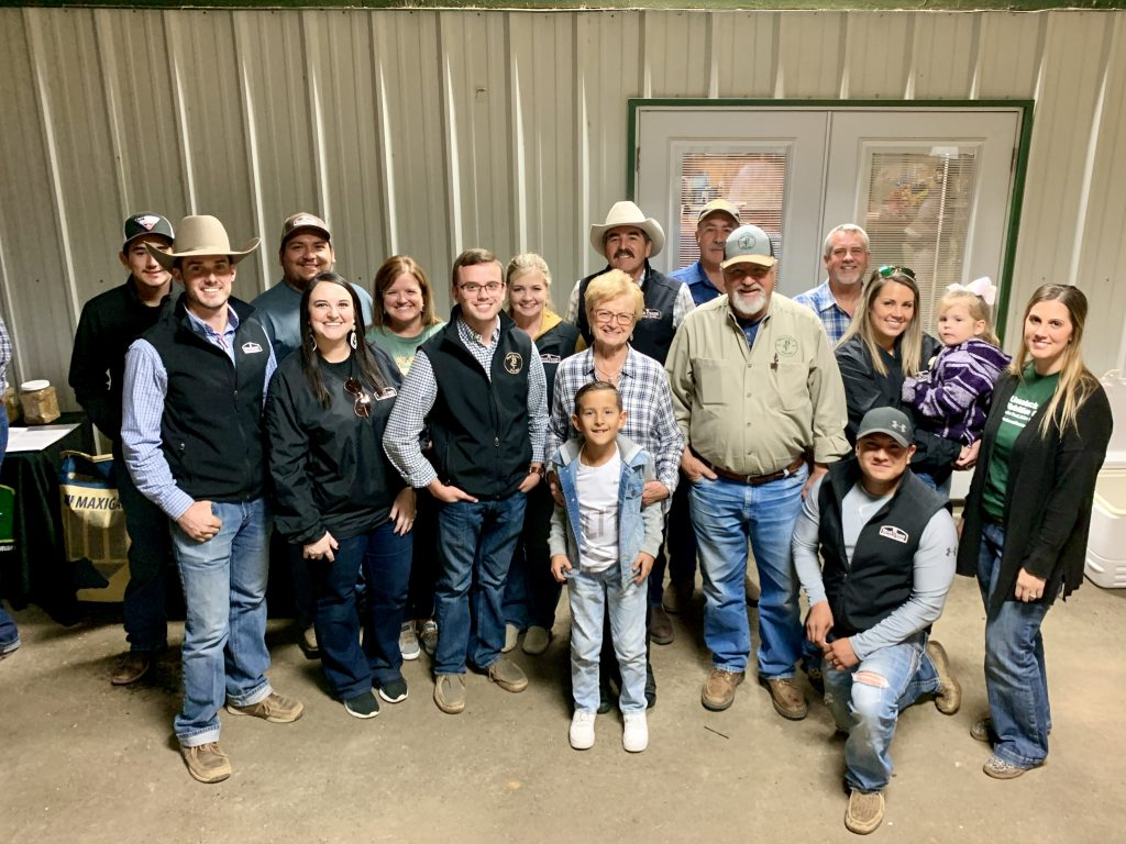 Bear Creek Country Store staff and owners in Leonard, Texas