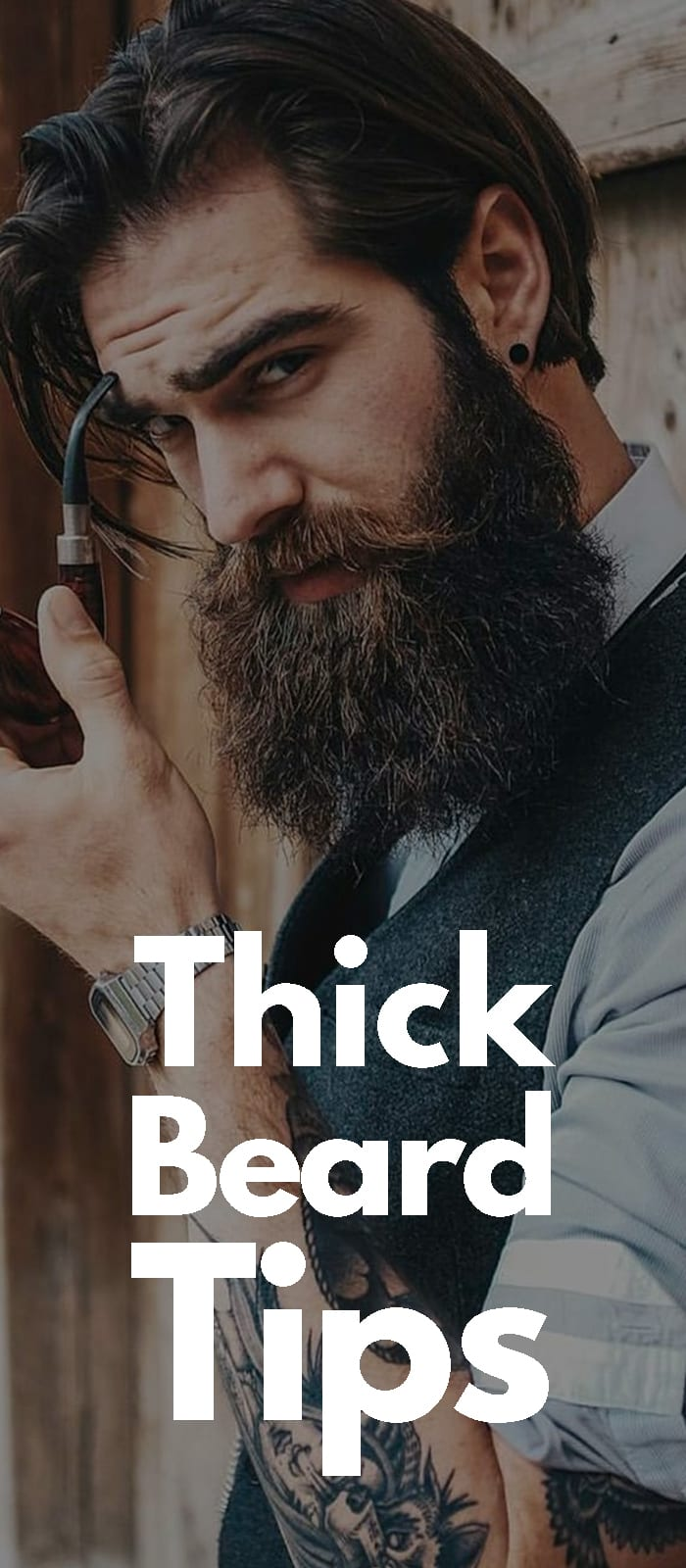 Tips For Thick Beard!