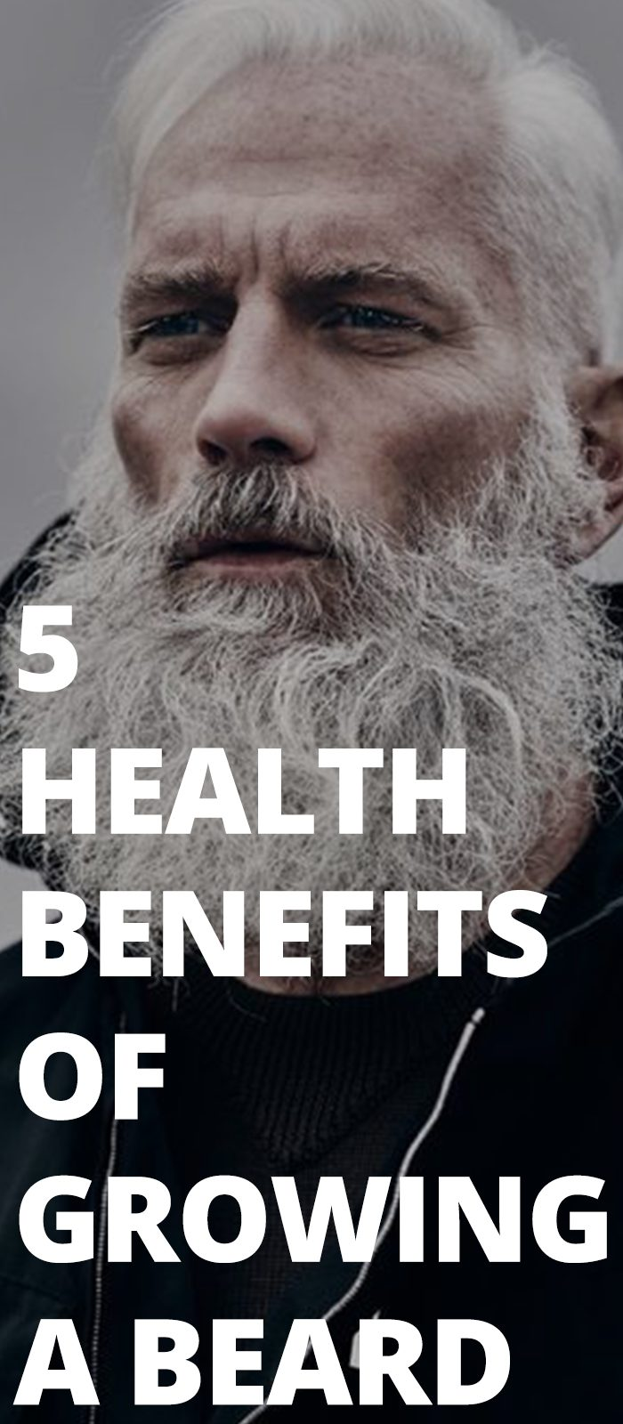 5 Health Benefits Of Growing A Beard