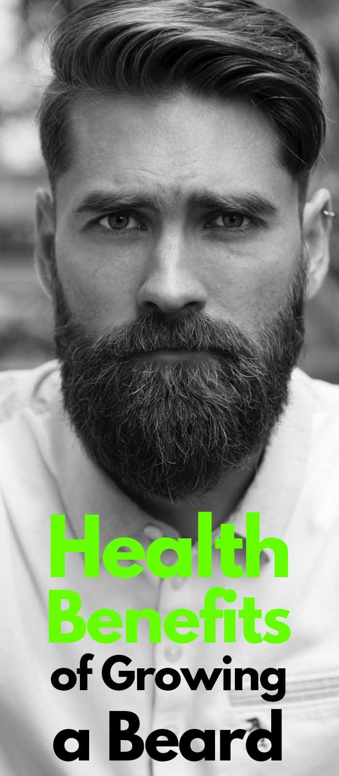 Beard Growing Benefits
