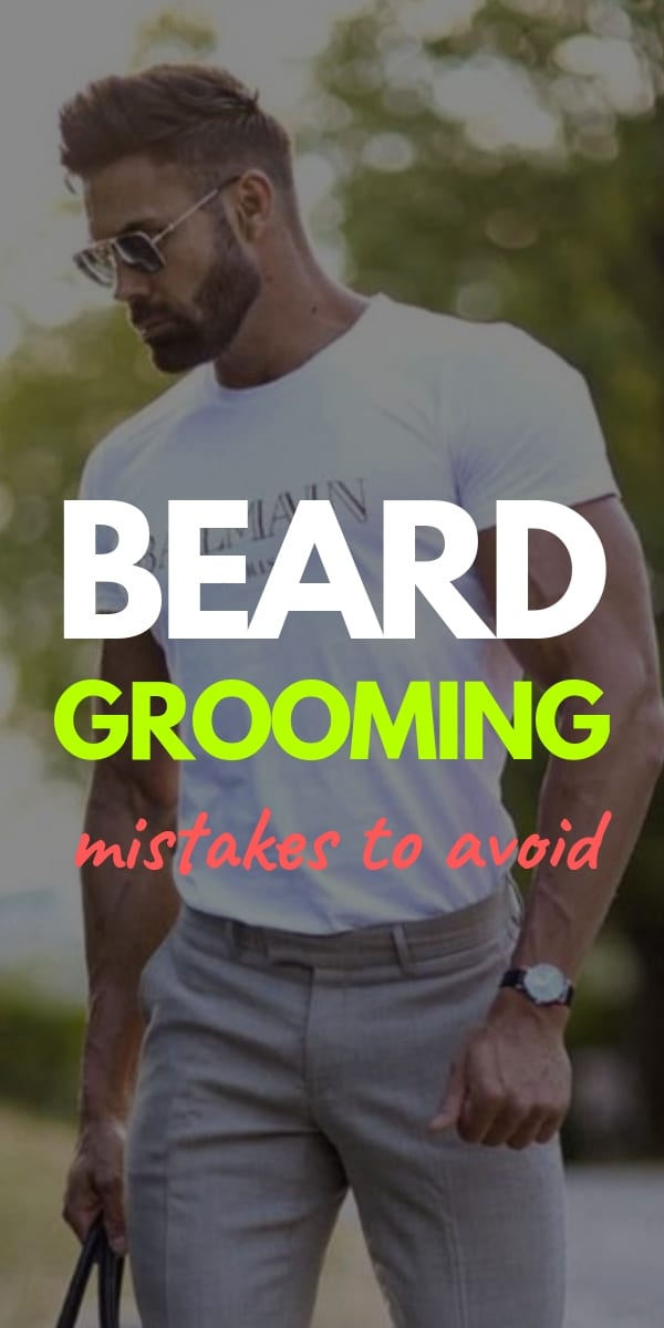 Beard grooming steps