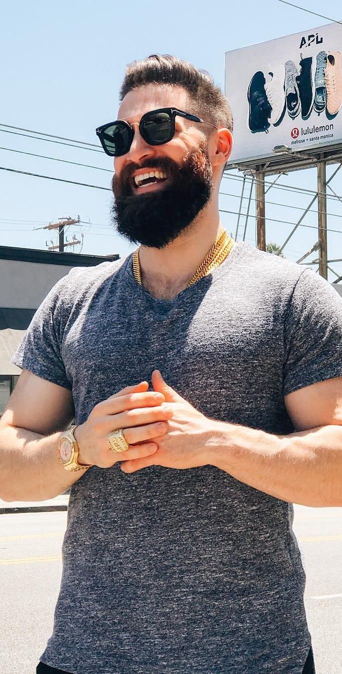 Simple Steps To Get The Full Beard Look