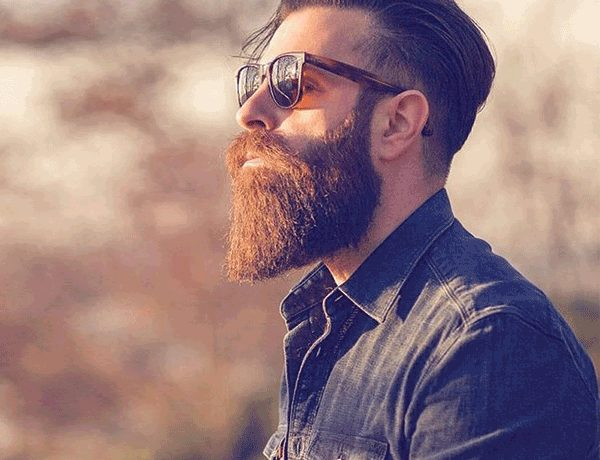 bearded look men