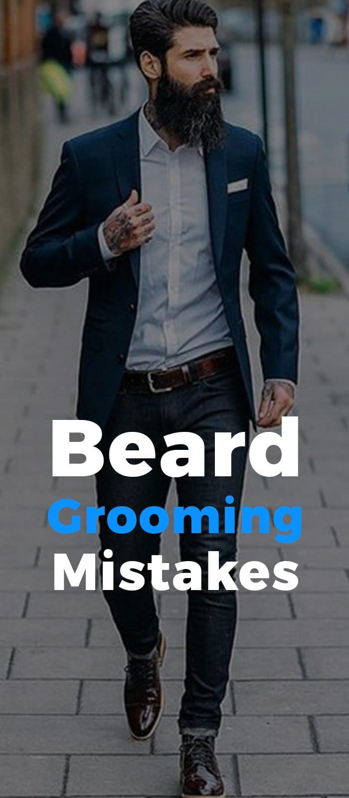 Beard Growing Mistakes