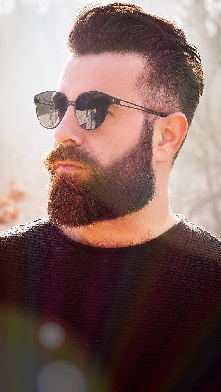 Difference Neckline Beard & Jawline Beard Styles