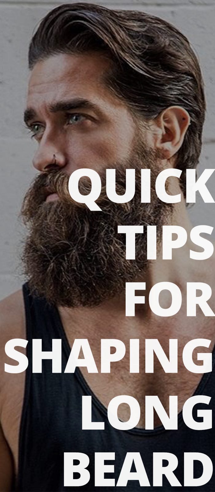 Quick Tips For Shaping Long Beard