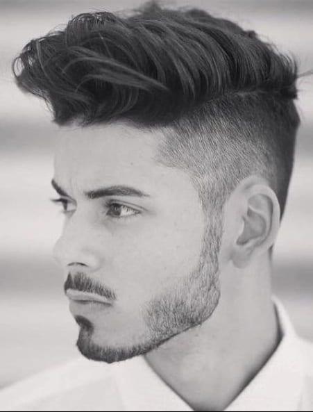 Stylish Chin Strap Beard Style