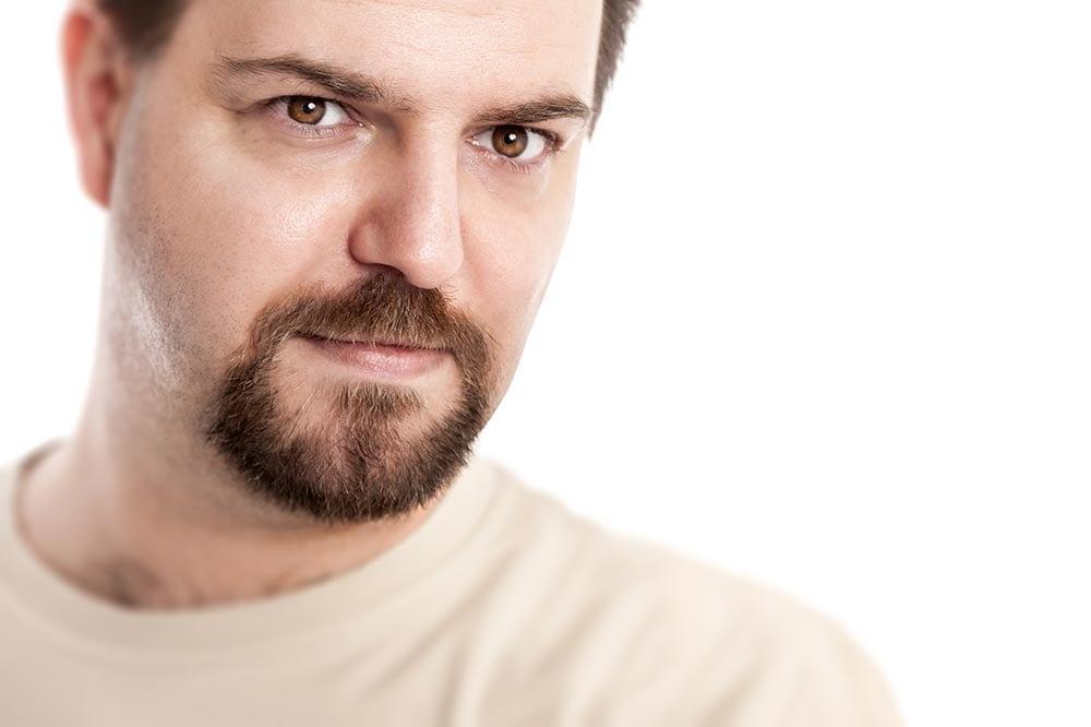 circle beard oval face stylish beards