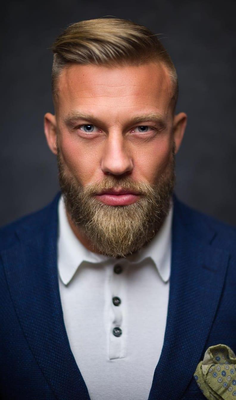 Duck tail Beard – The Sexiest Beard Style Trends