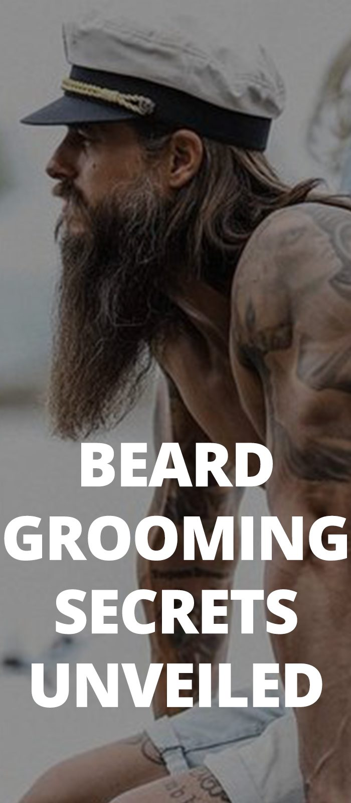 Beard Grooming Secrets Unveiled