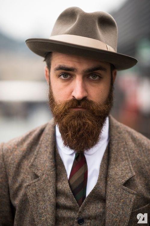 classy beard