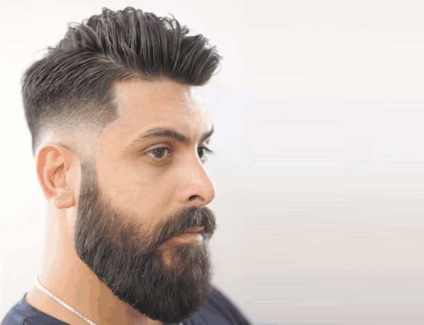 10 Beard Styles That Burn The House Down With Faded Hairstyle!