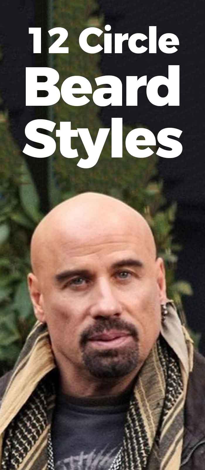 Circle style beard for men!