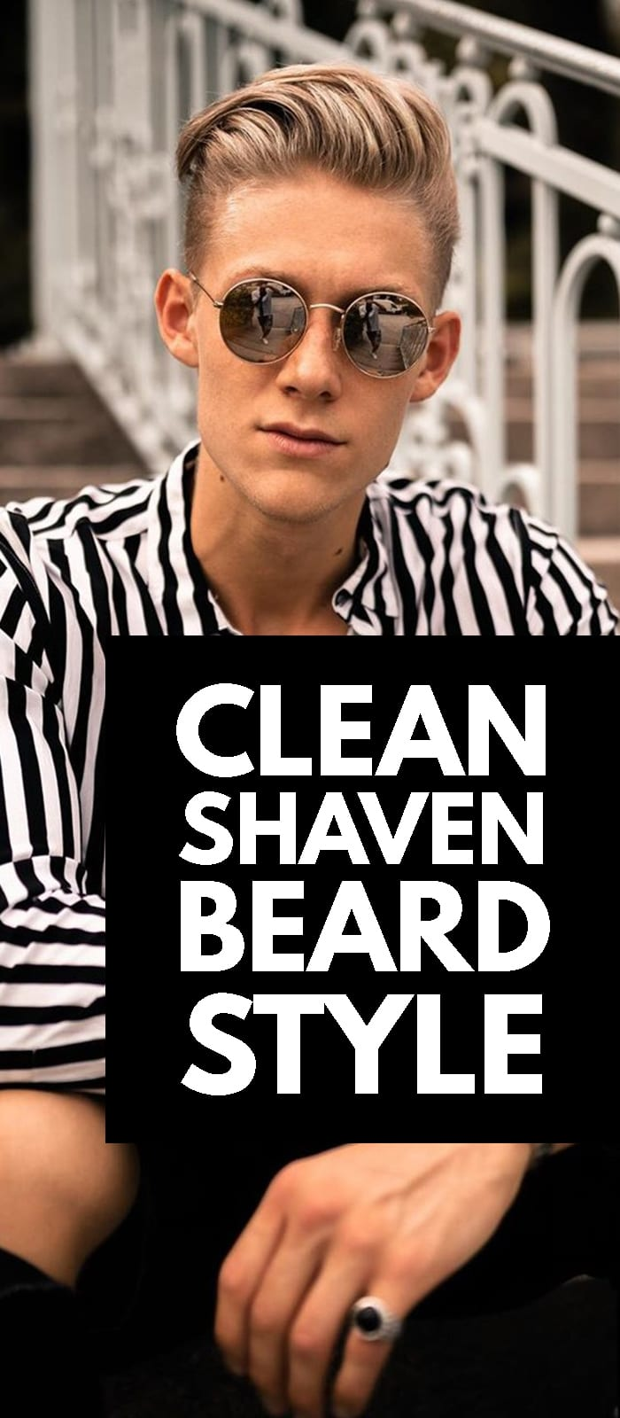 Clean Shave Beard Style