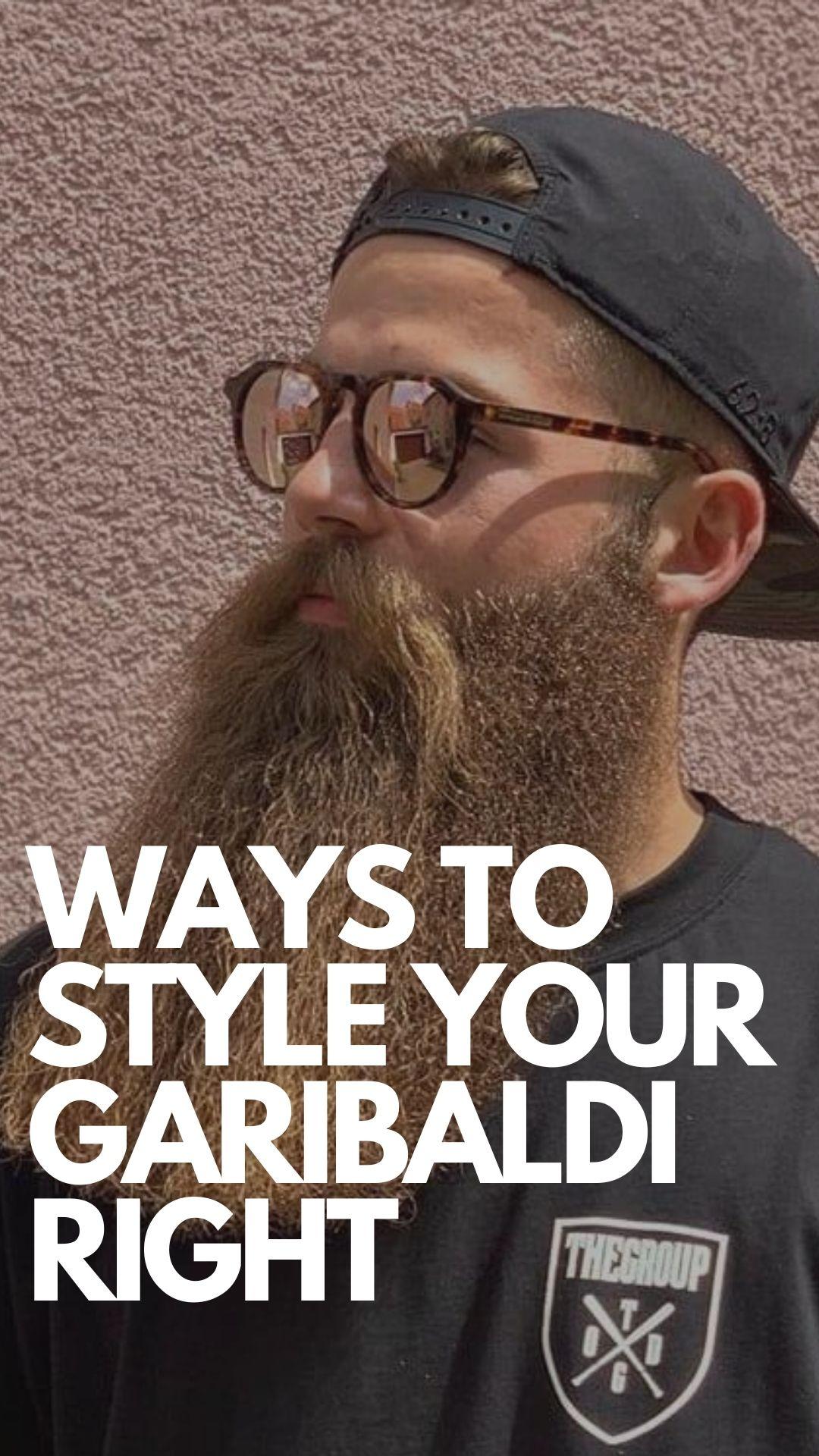 Garibaldi Beard Styles for Men