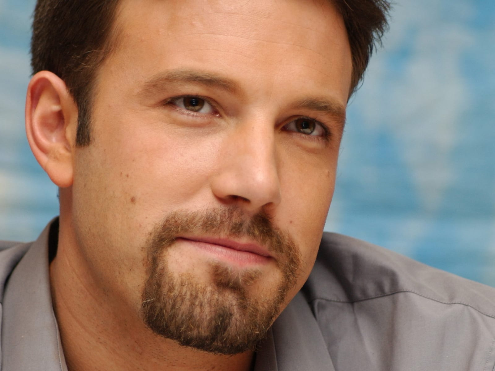 Goatee bearded men ben affleck