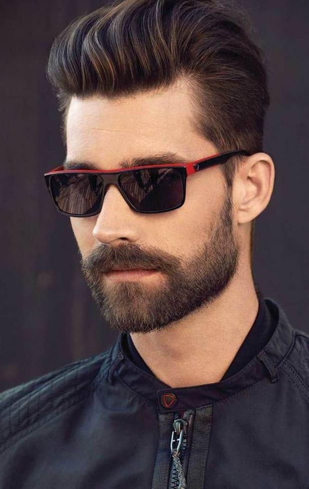 Heavy stubble beard for men