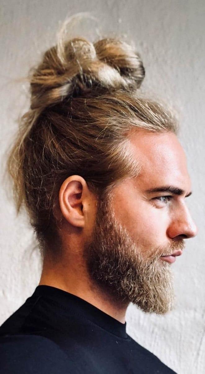 Infinity-Man-Bun-And-Beard-for-men