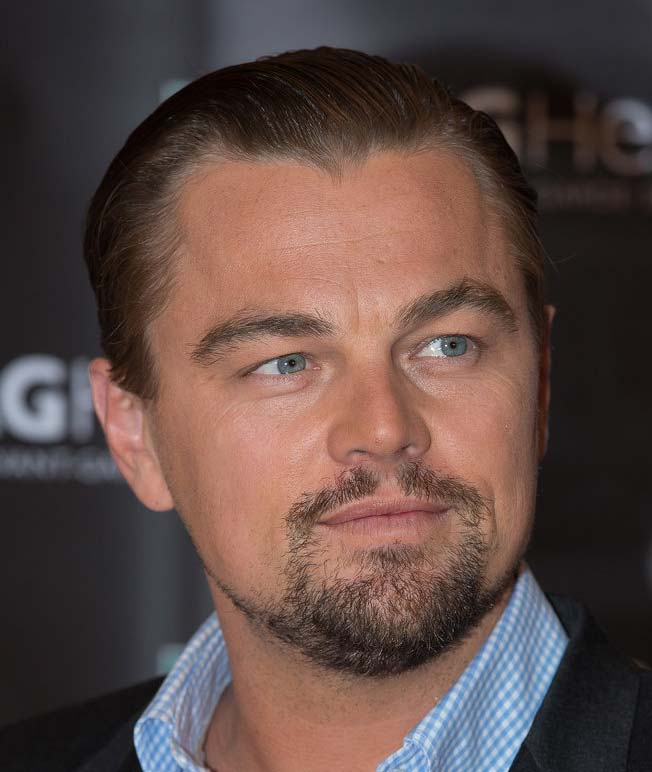 Leonardo di caprio bearded celebs circle beard