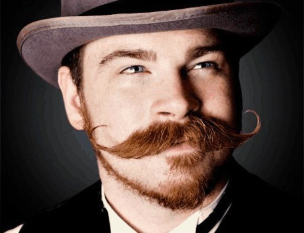 Macho Gunslinger Moustache style