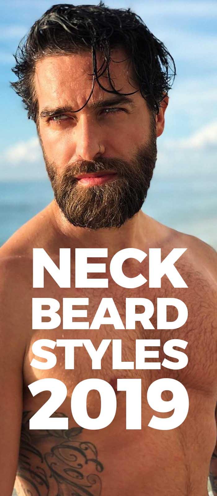 Neck Beard Styles For Men