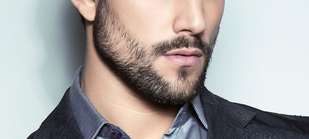 Perfect patchy beard