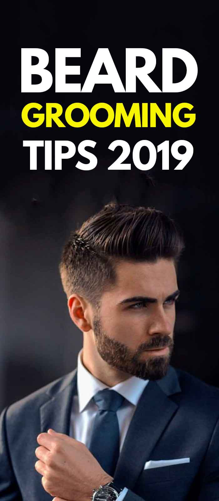 Sexy sharp short beard styles for men!