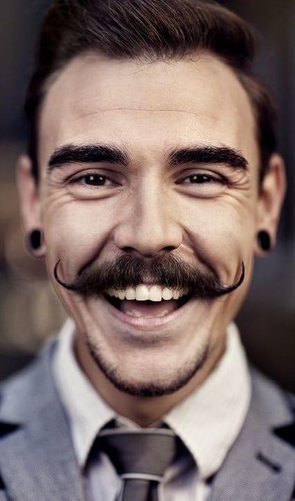 The Vintage Handlebar Moustache For Men In 2019