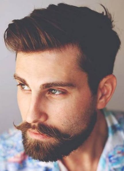 The Vintage Handlebar Moustache For Men