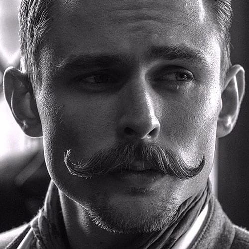 The Vintage Handlebar Moustache Style For Men In 2019
