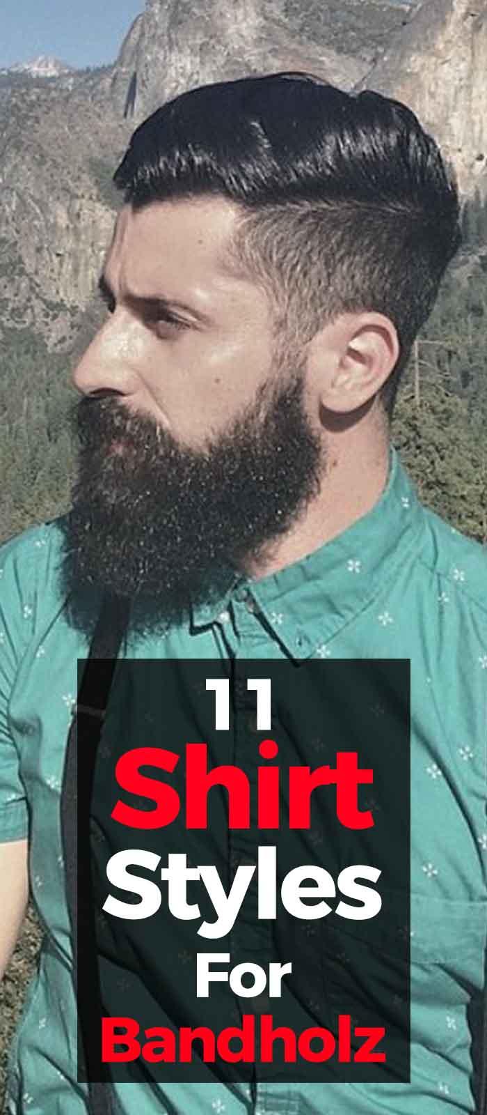 Ways to style your bandholz beard!