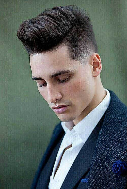 clean-shave-with-faded-hairstyle