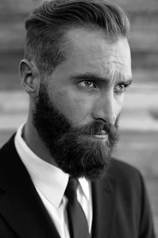 full-beard-for-faded-hair