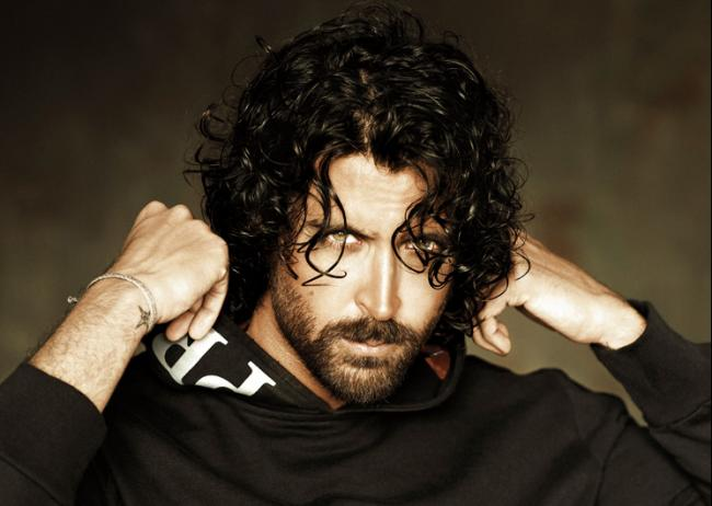 hrithik-roshan-with-curly-hair-and-beard