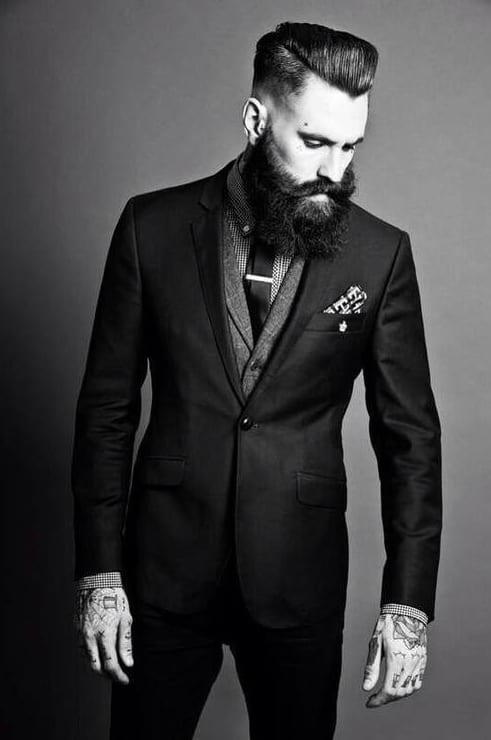 imperial-beard-with-formal-dressing