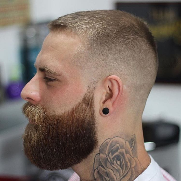 long-beard-with-short-faded-hair