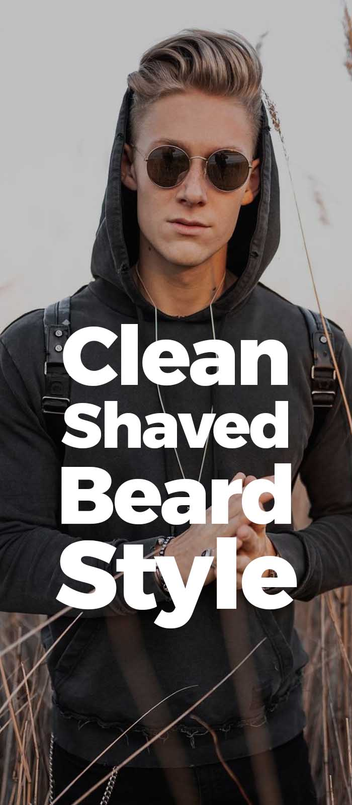 Clean Shave look for men!