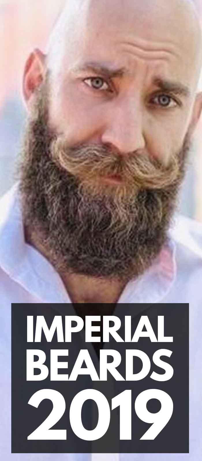 Imperial Beard look for stylish men!