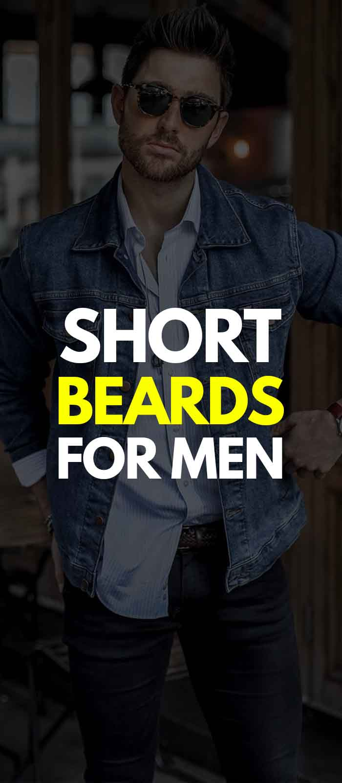 Short Beard style for men!