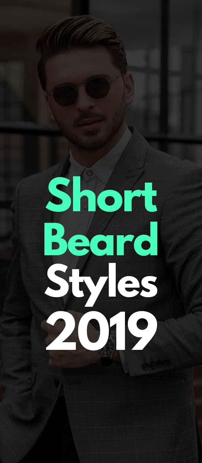 Short Beard style for men to try!