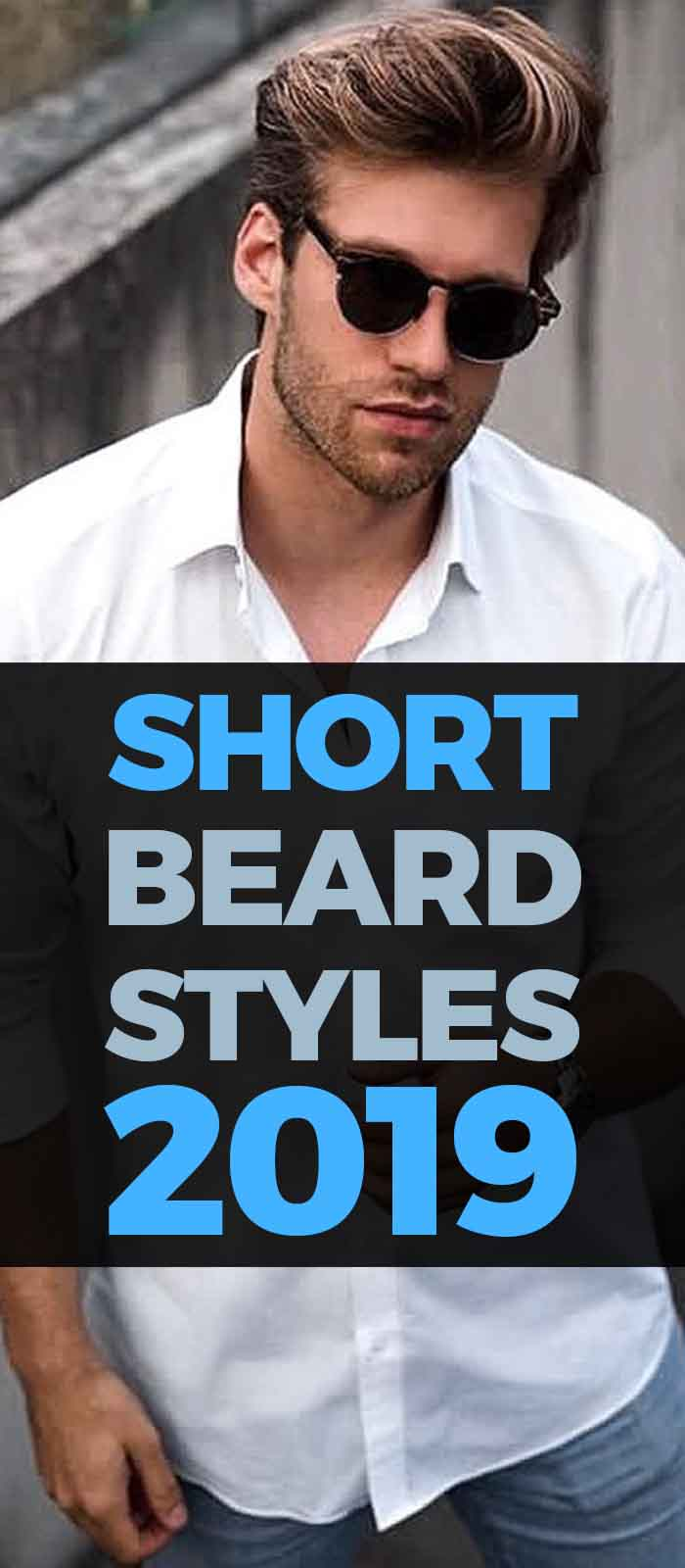 Short Stubble Beard look for men!