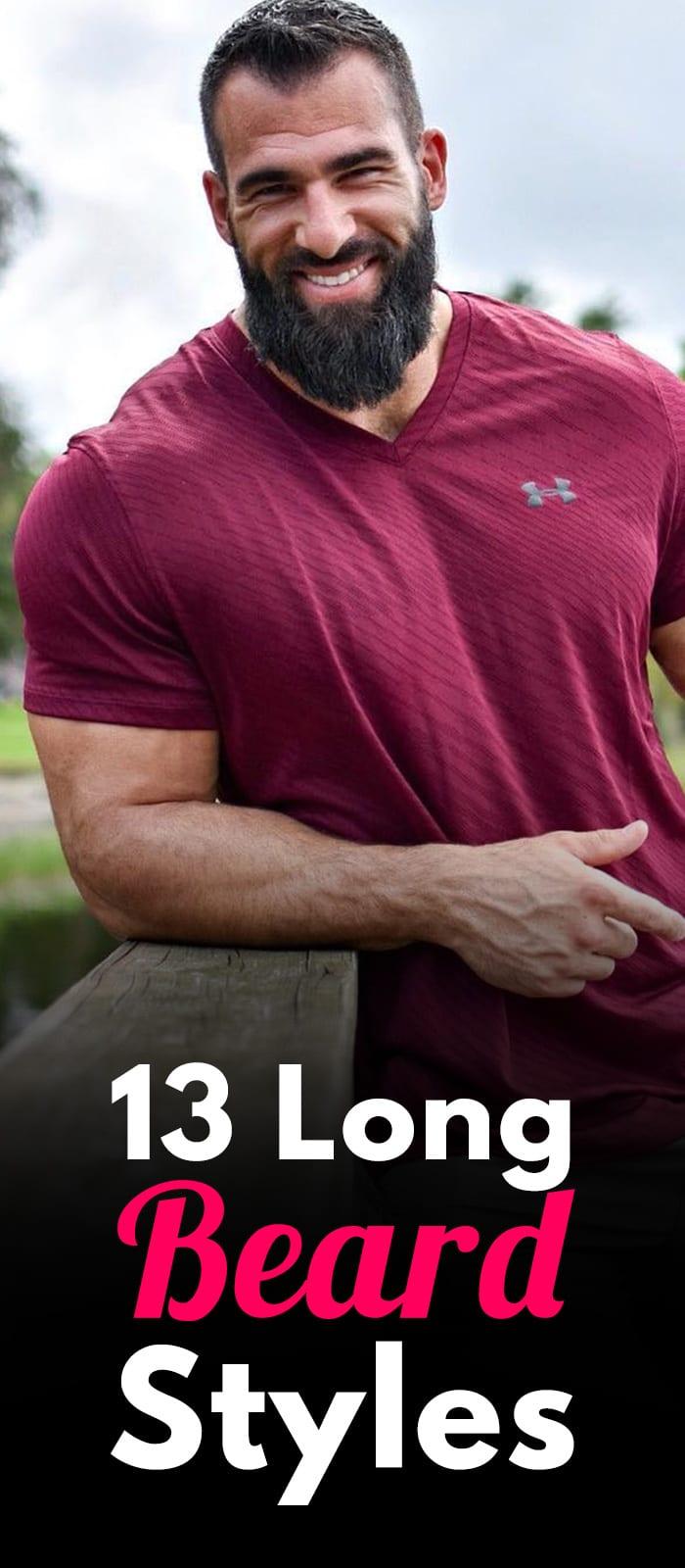 13 Long Beard Styles