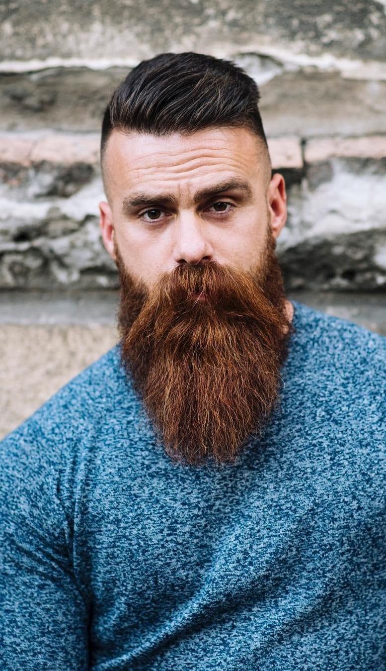 Cool boss Long beard styles for men