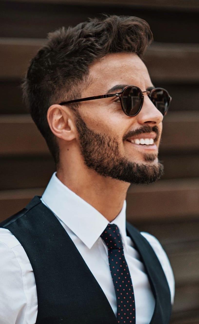 Men's Short Beard 2020