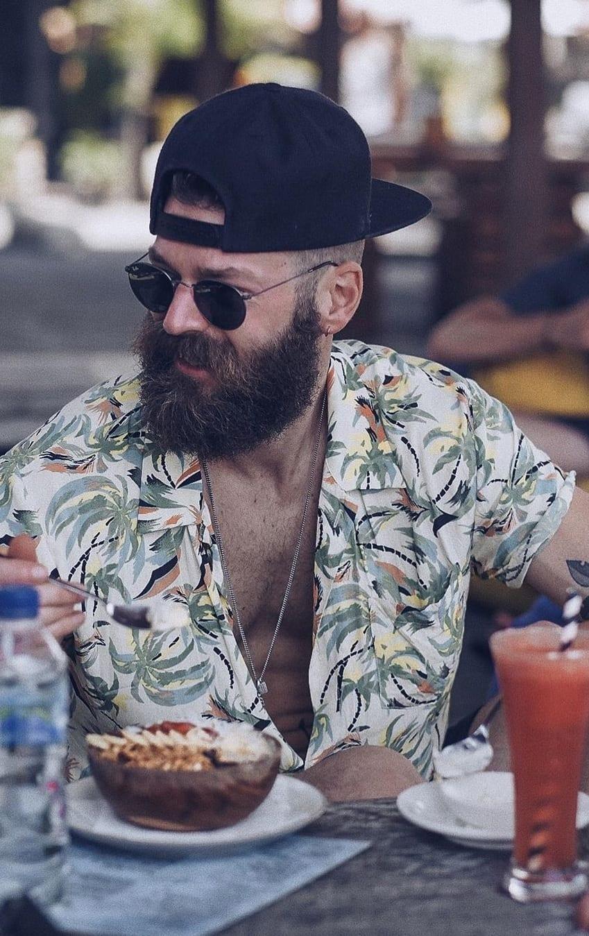 Cool Long Beard Trends- Bandholz 2020