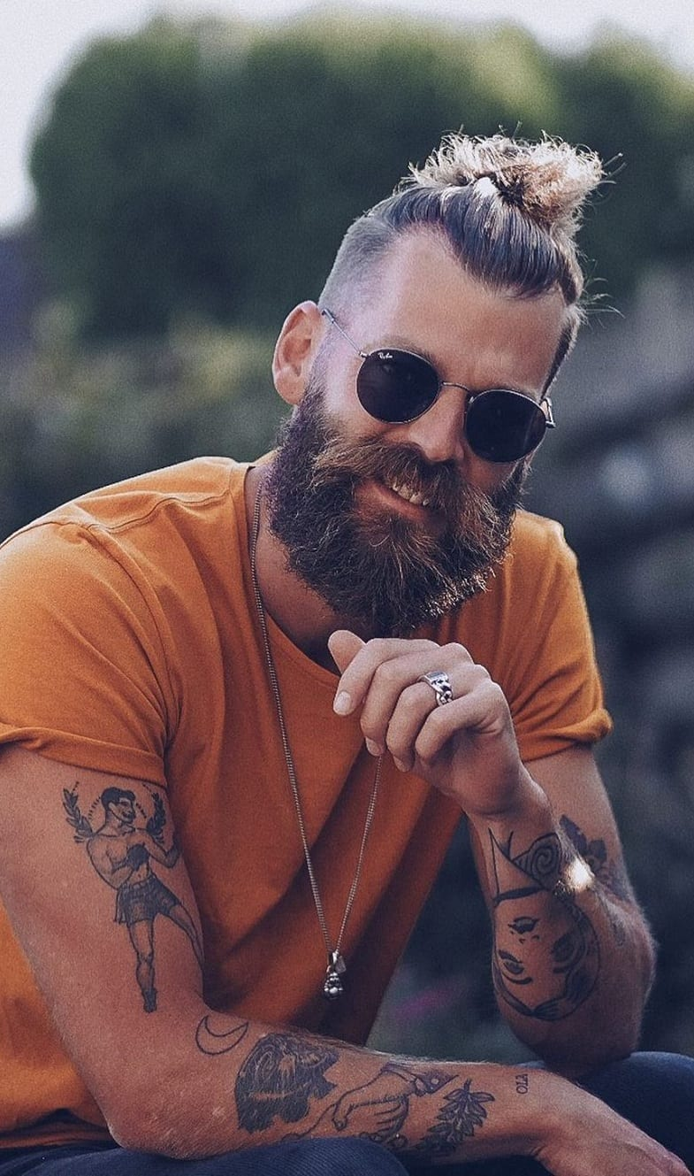 10 Trendy Full Beard Style