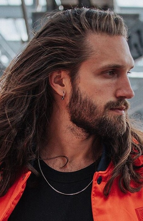 12 Amazing Long Hair and Beard Combination
